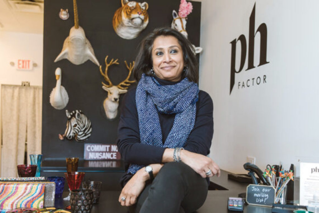 Everybody's business: She runs shop with a worldly view
