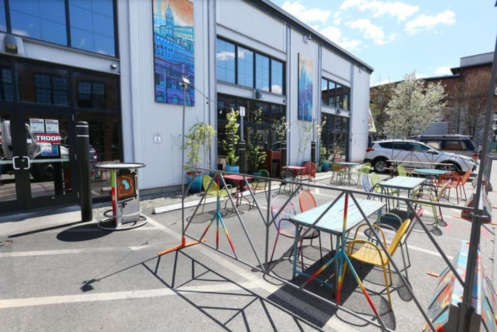 Outdoor dining 'parklets' are all around RI. Check out this post-COVID trend