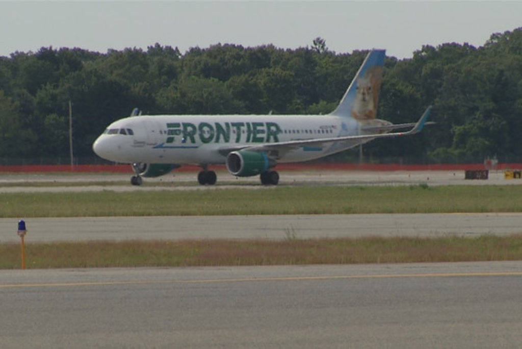 Frontier Airlines to offer flights to Atlanta and Philadelphia from Rhode Island