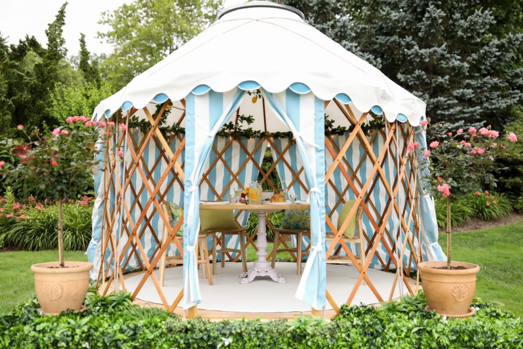 The Chanler's Yurts Get a Summer Makeover
