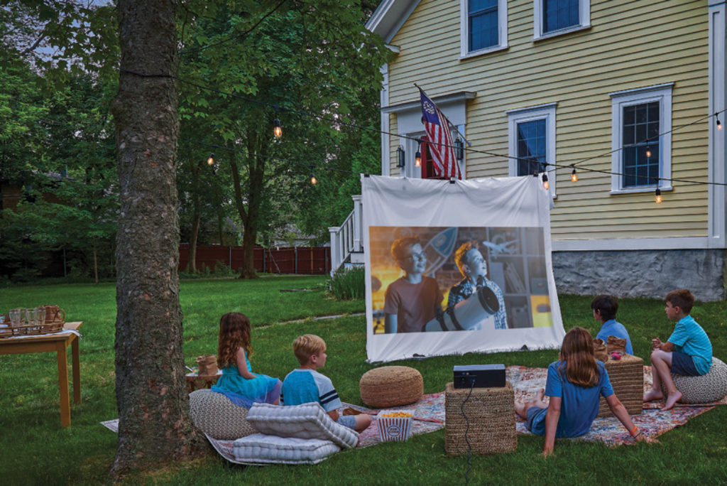 Now Playing: How to Throw a Backyard Movie Night