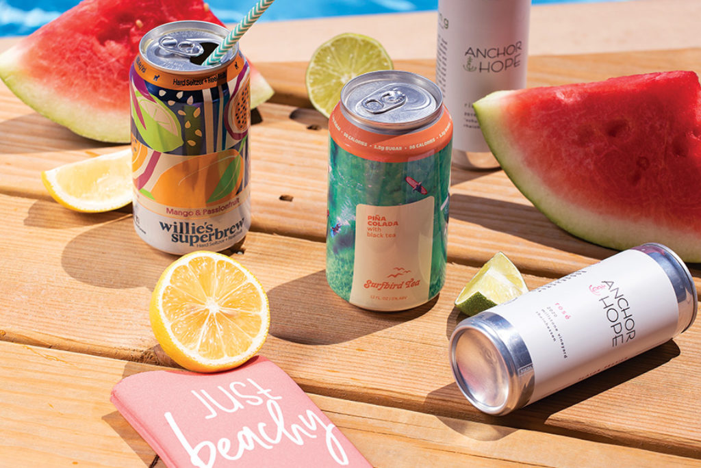 Say Cheers with RI-Made Canned Cocktails