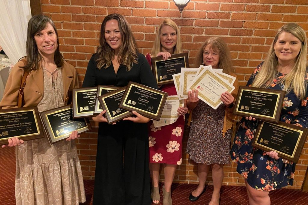 Rhode Island Monthly Wins 20 Rhode Island Press Association Awards and Hall of Fame Recognition