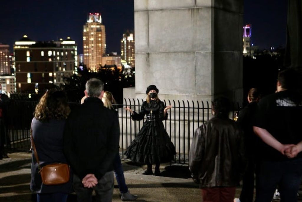 New to RI: Providence Ghost Tour lifts the veil on city's specters