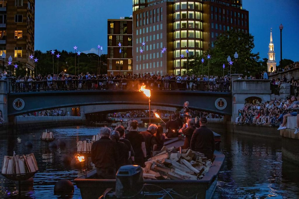 Saturday's WaterFire Celebrates Black, Indigenous and People of Color Communities