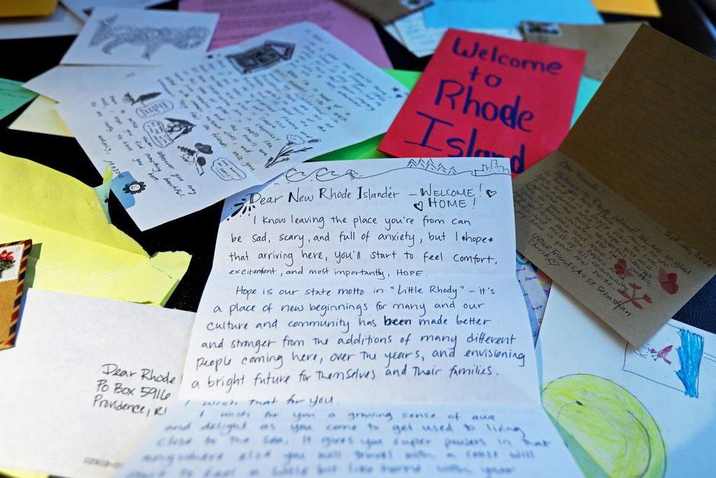'Dear new Rhode Islander. Welcome!'