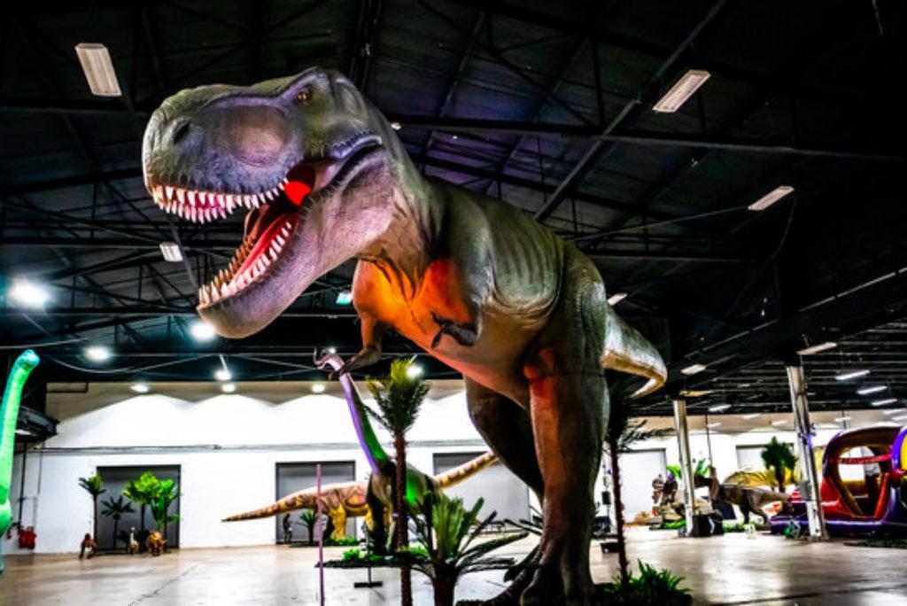 Animatronic dinosaur and dragon exhibit tour coming to Rhode Island